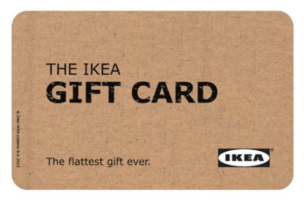 IKEA is replacing plastic with paperboard in its gift cards