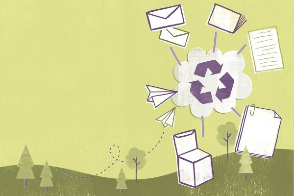 For Recycling, Paper is King